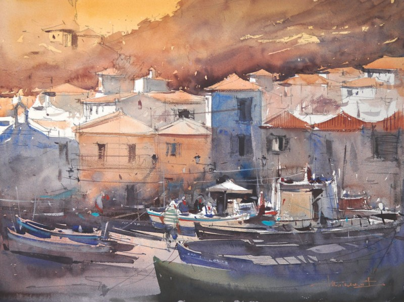 10 Watercolor Paintings from 10 Top Artists
