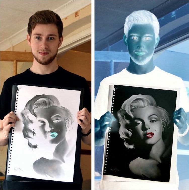Negative Drawings By Liam York