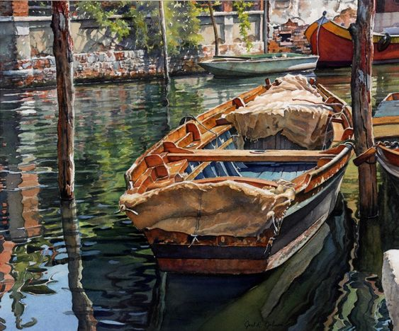 Watercolor Painting Layers Joel Johnson
