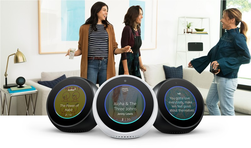 Amazon Echo Spot - Black