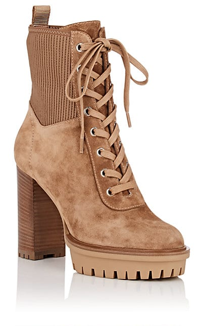 Gianvito Rossi Martis Suede Ankle Boots