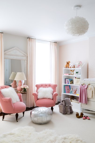 Glam Kids Bedroom Design By Chango & Co.