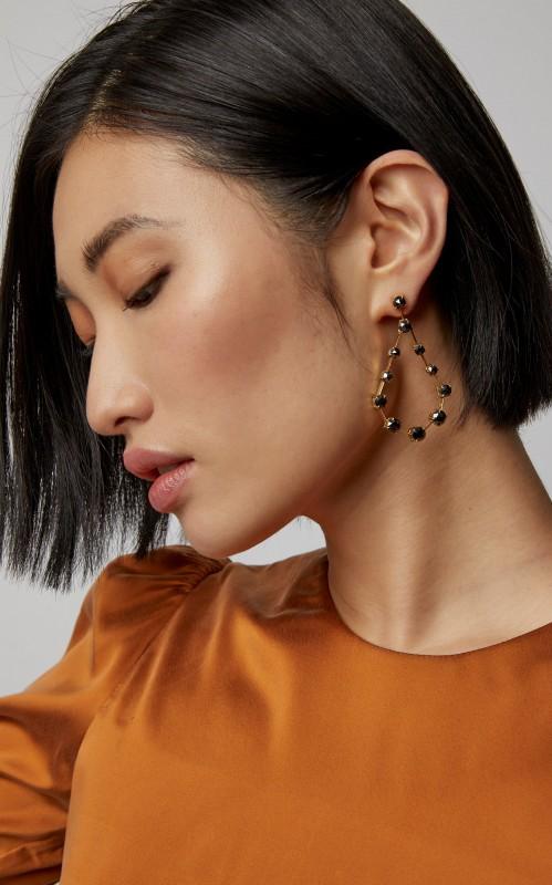 Ara Vartanian 18K Gold Diamond Earrings