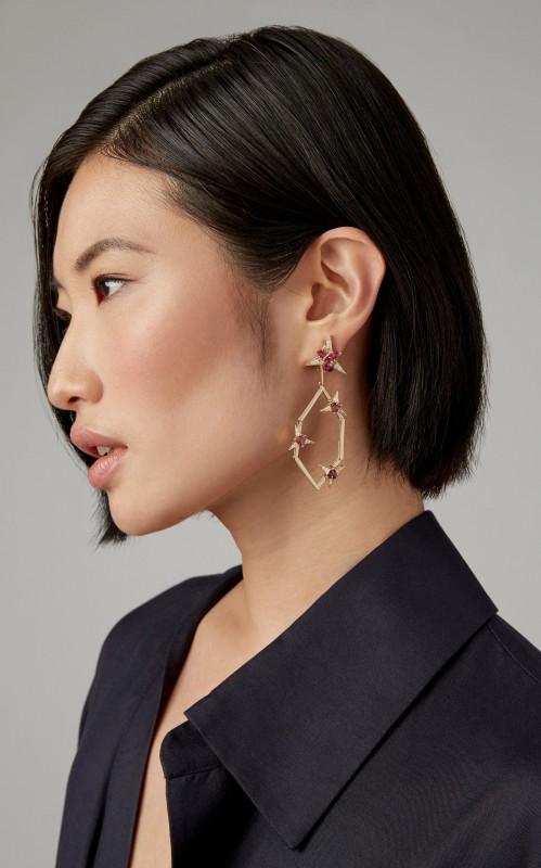 Carol Kauffmann Galactic Drop Earrings