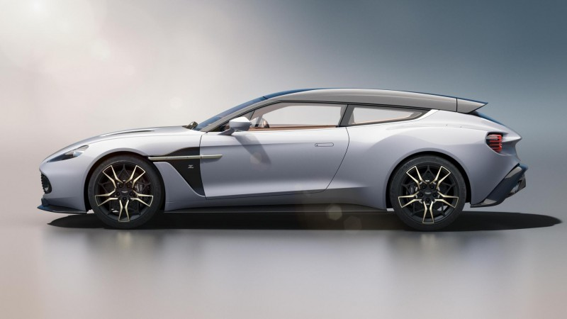 Aston's Vanquish Zagato Shooting Brake Has Sold Out