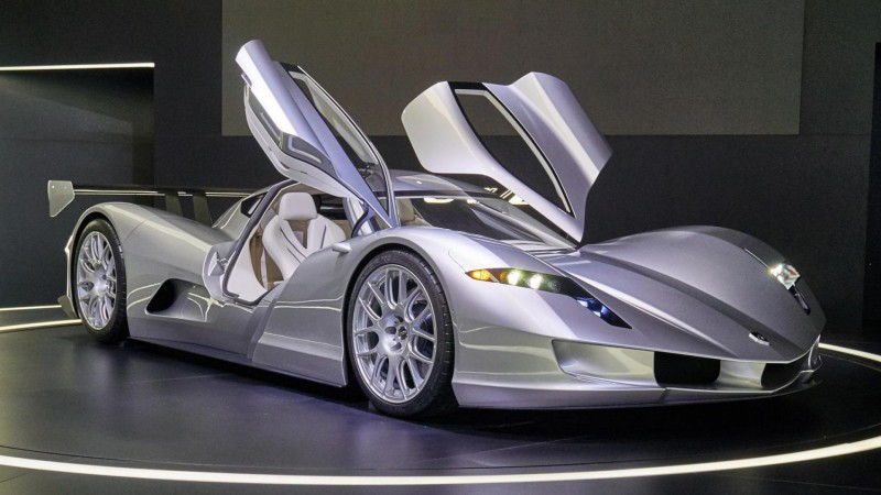 Seven Electric Hypercars
