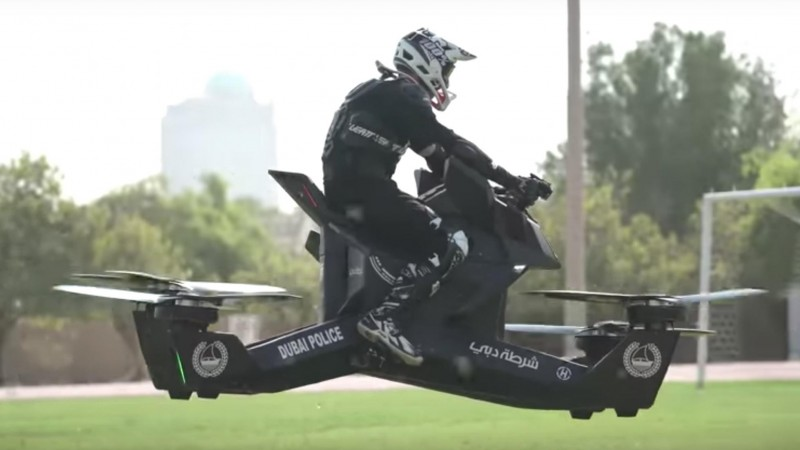 The Dubai Police Force Has Got Itself A Hoverbike