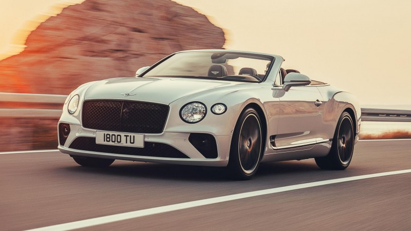 This Is The New Bentley Continental GT Convertible