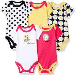 Luvable Friends Baby Cotton Bodysuits
