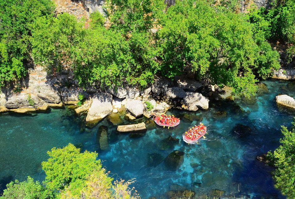 Köprülü Canyon Antalya: Whitewater Rafting Trip