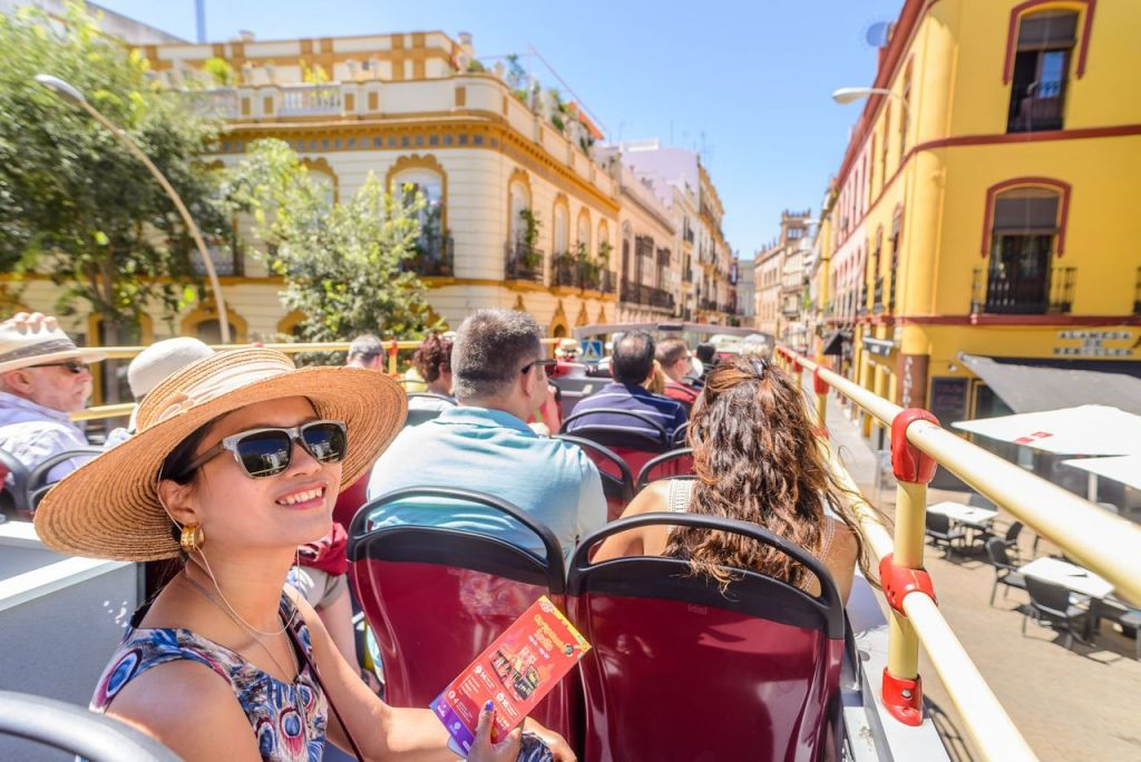 Seville: 24/48-Hour Hop-On Hop-Off Bus Ticket