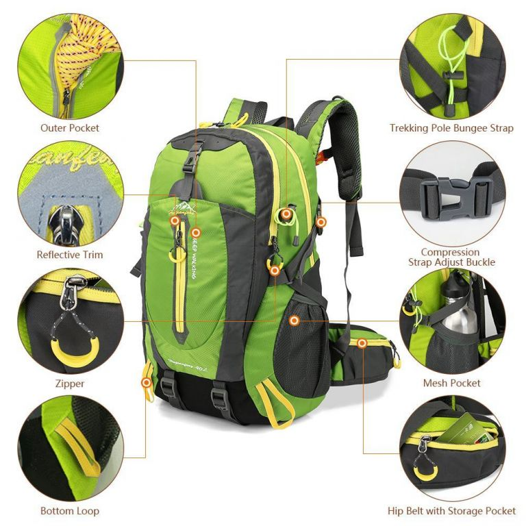 AZ Fish Waterproof Outdoor Backpack