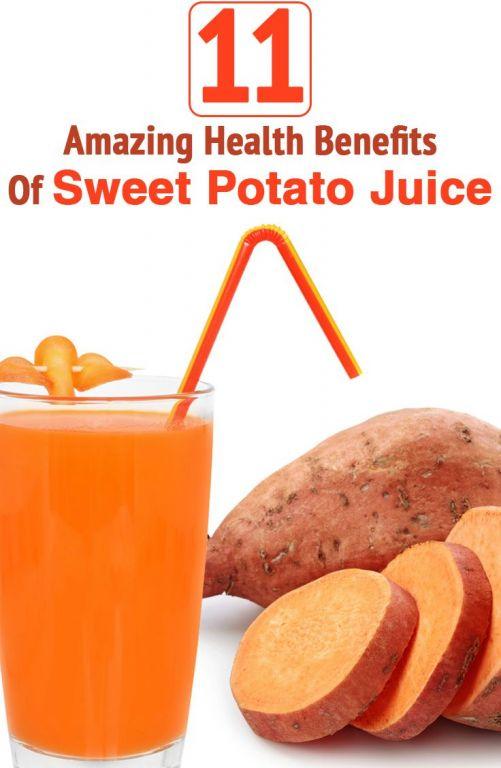 11 Amazing Health Benefits Of Sweet Potato Juice