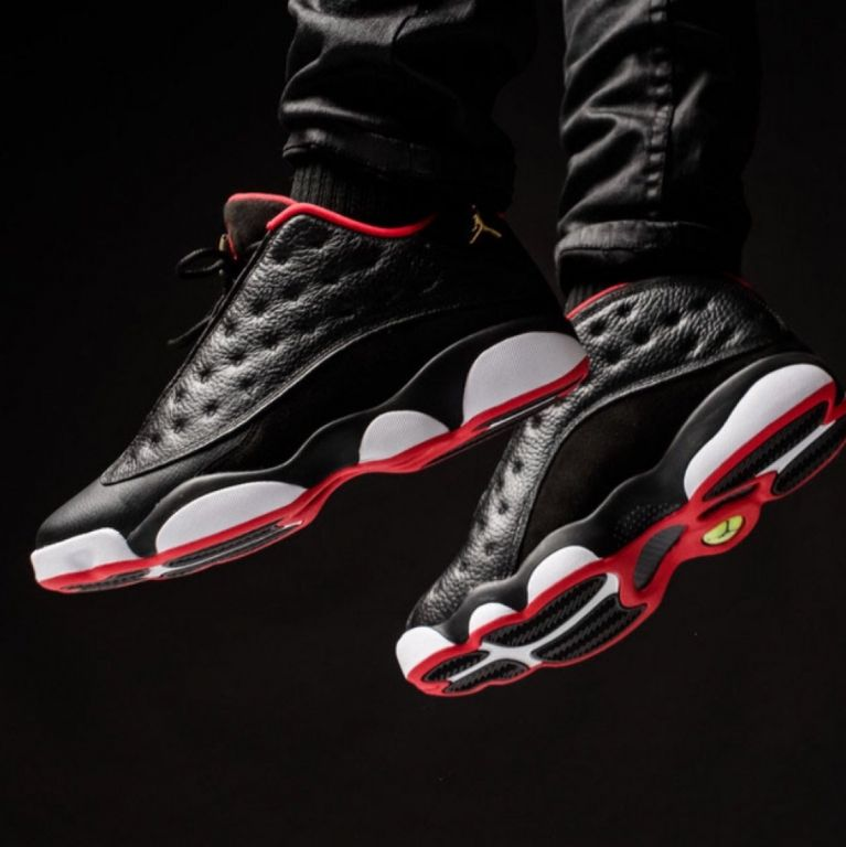 Nike Air Jordan 13 Retro Low 2015 Bred