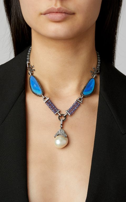 Wendy Yue Opalised Necklace