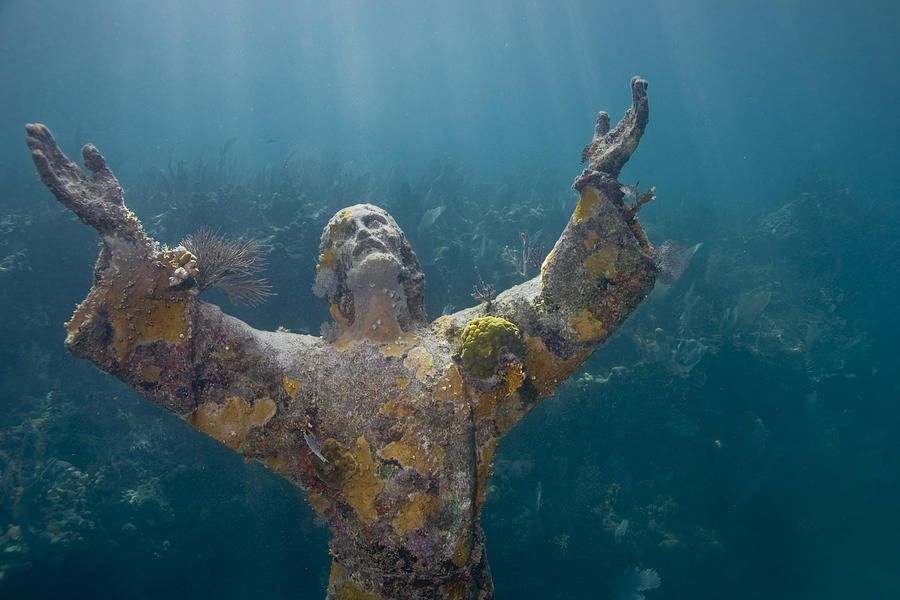 Christ Of The Abyss, Key Largo, Florida