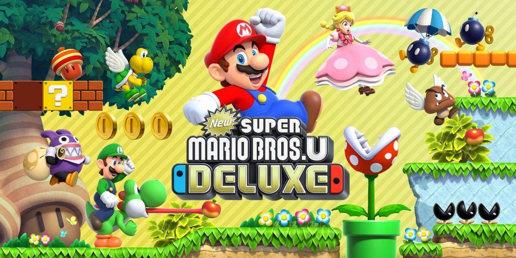 New Super Mario Bros. U Deluxe, Nintendo Switch