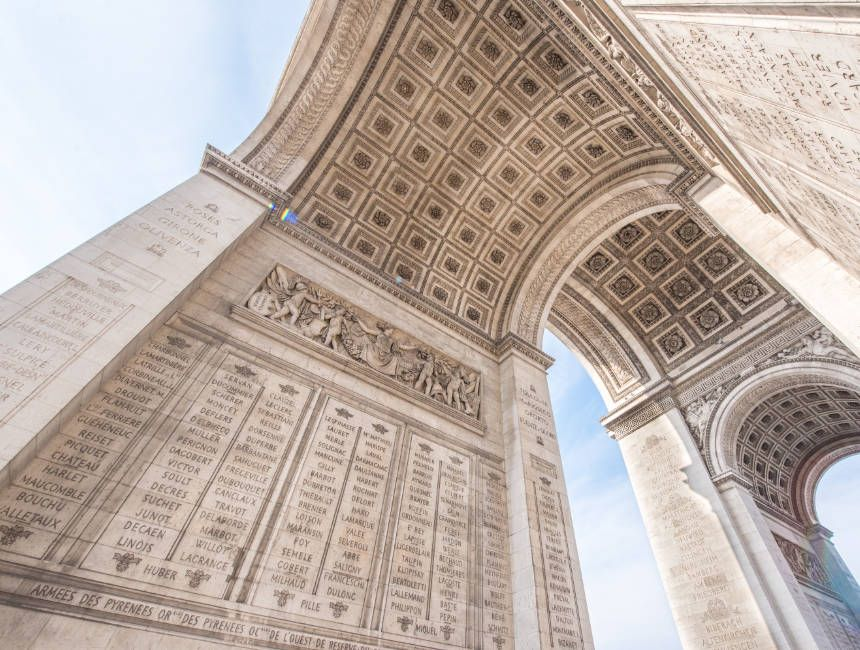 Paris: Skip-the-Line Arc de Triomphe Rooftop Tickets
