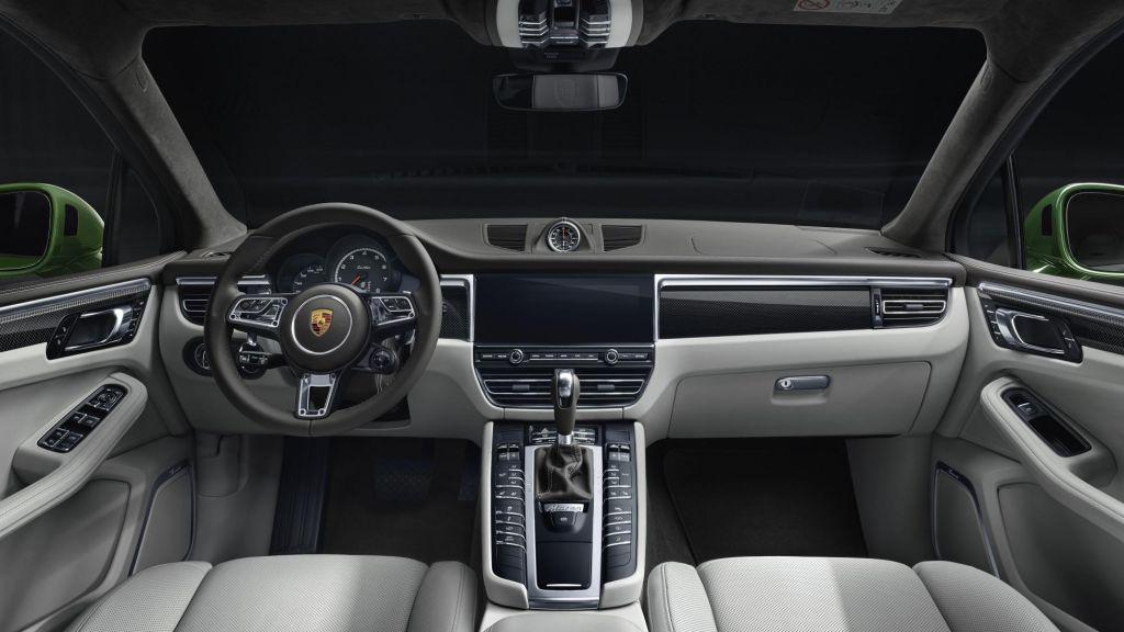 The Porsche Macan Turbo