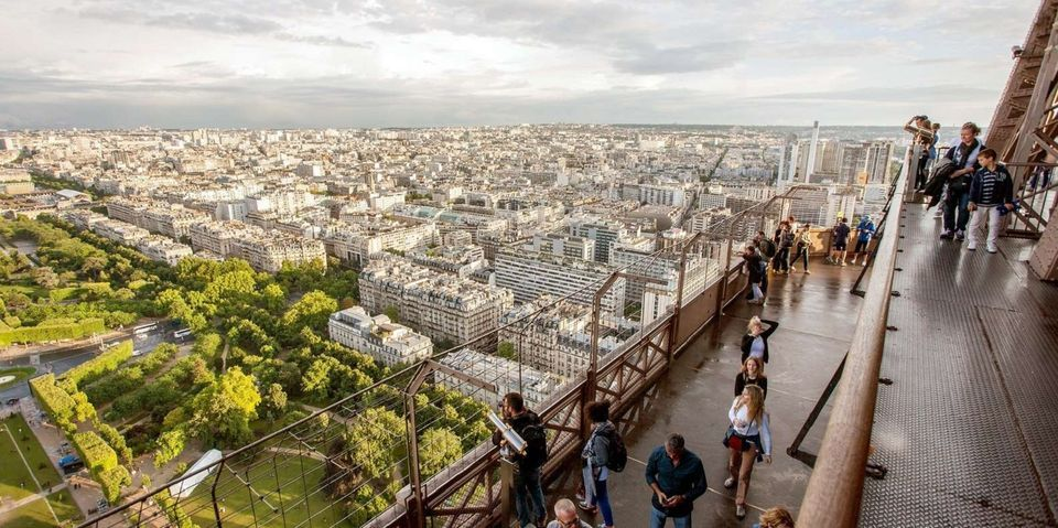 Eiffel Tower: Skip-the-Line Ticket with Summit Access