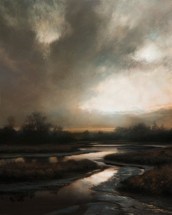 South Arm Tributary By Renato Muccillo, Oil Painting
