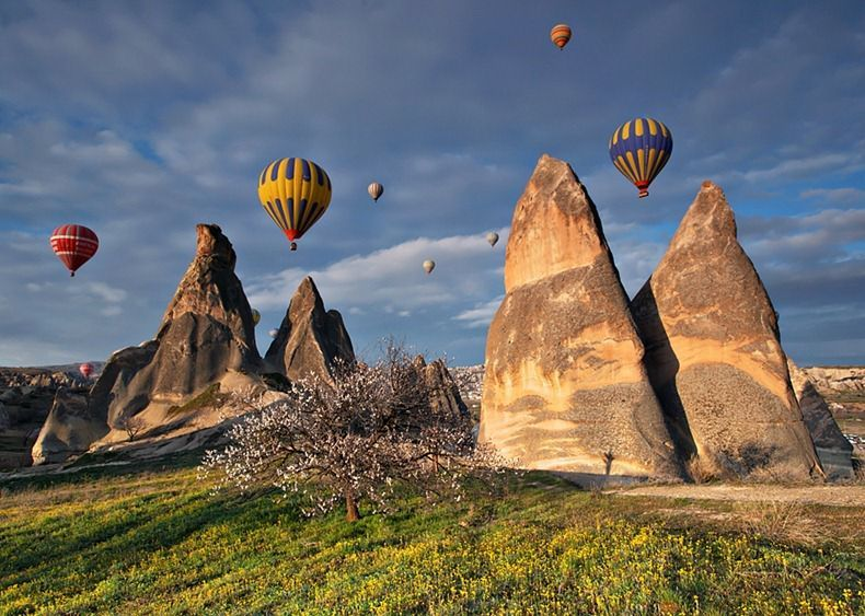 Cappadocia: Hot Air Balloons over Fairy Chimneys