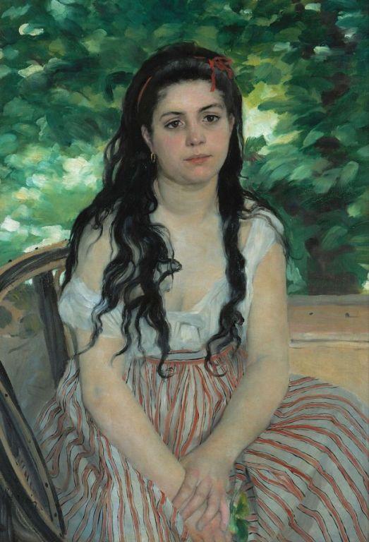 In Summer By Pierre-Auguste Renoir, Oil Painting