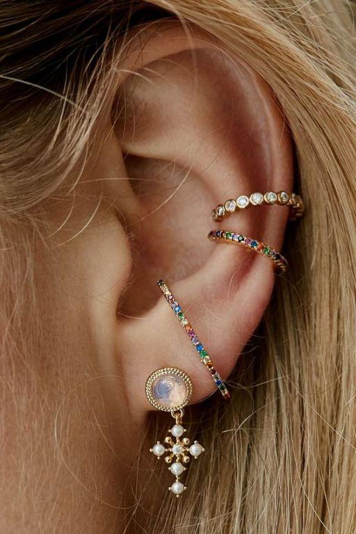 Rue Gembon Stella Gold Earrings