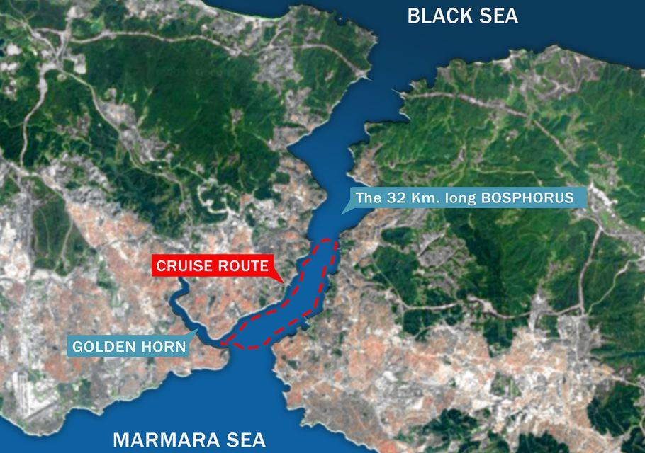 Istanbul: Bosphorus Cruise from Eminonu Pier