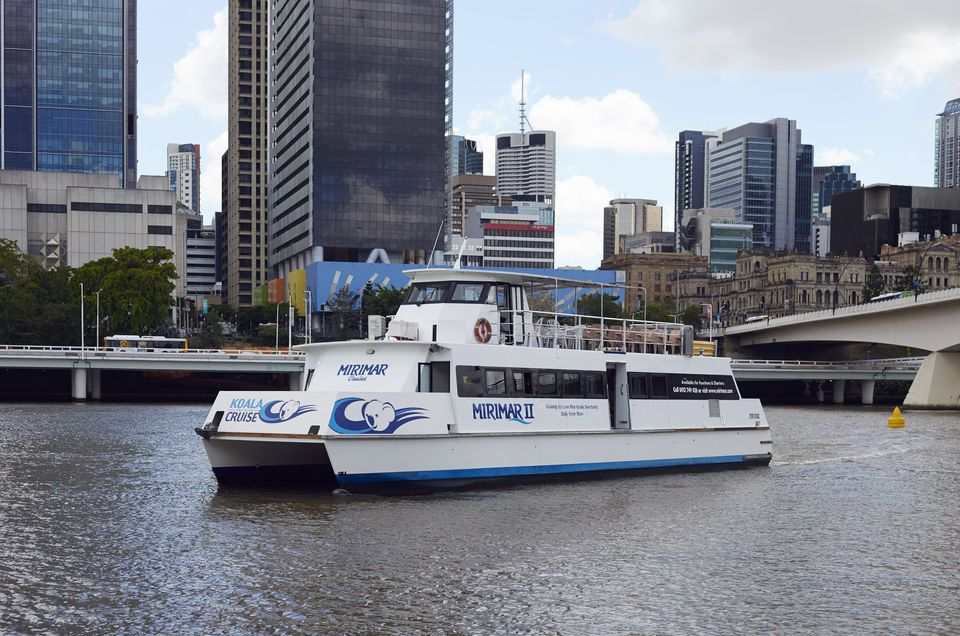 Brisbane River Cruise and Koala Sanctuary Visit